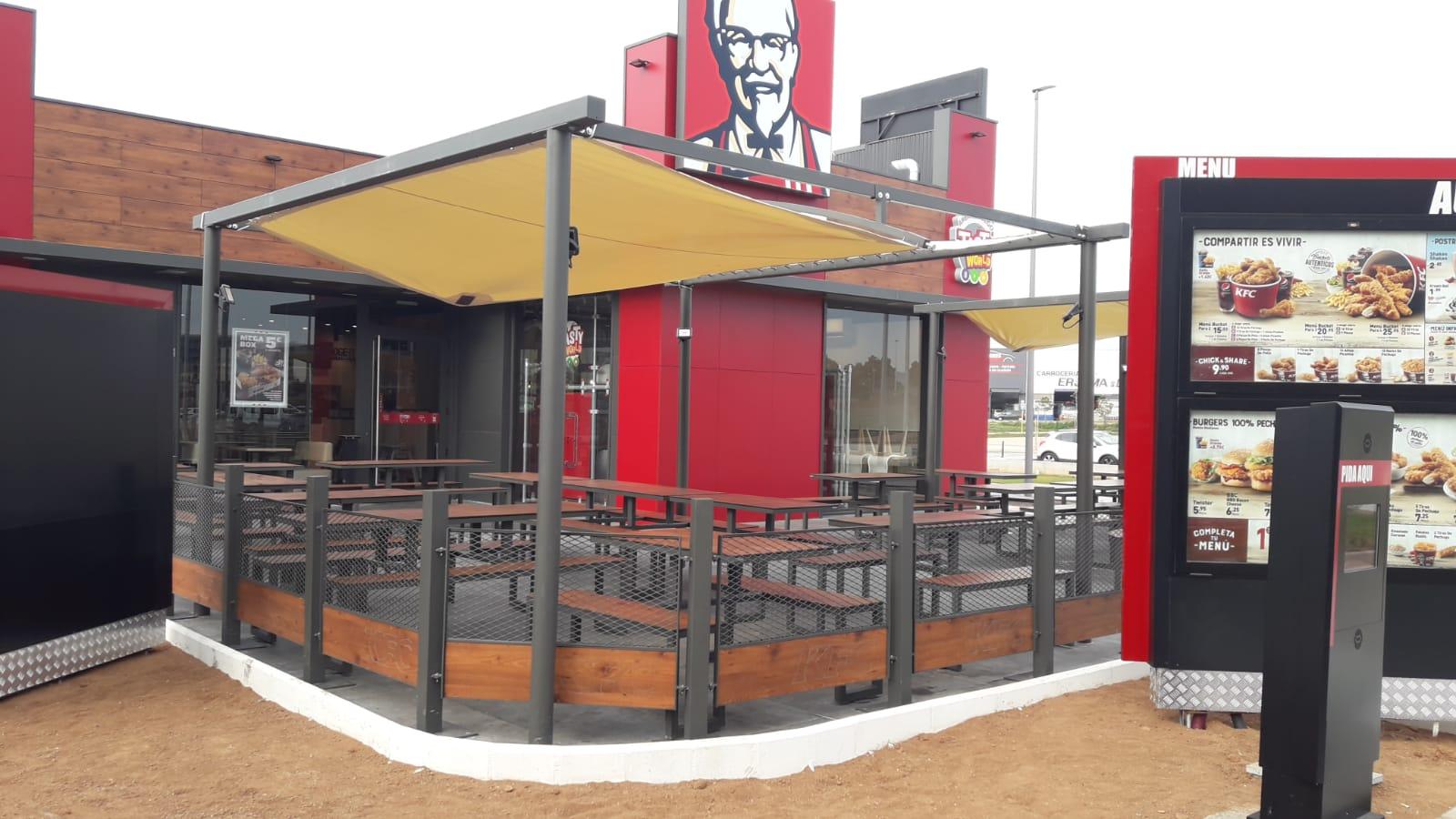 Obra Civil KFC Castellón