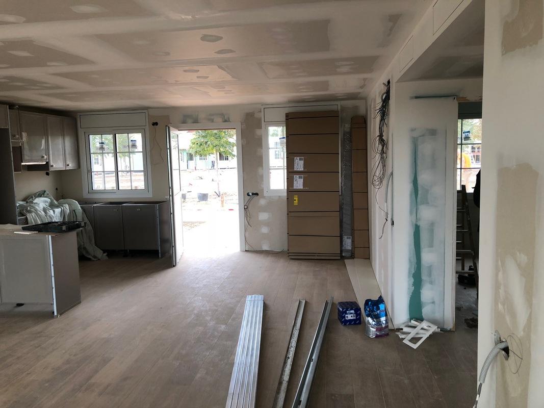 Construccion casas prefibricadas hormigon en Port Aventura 6