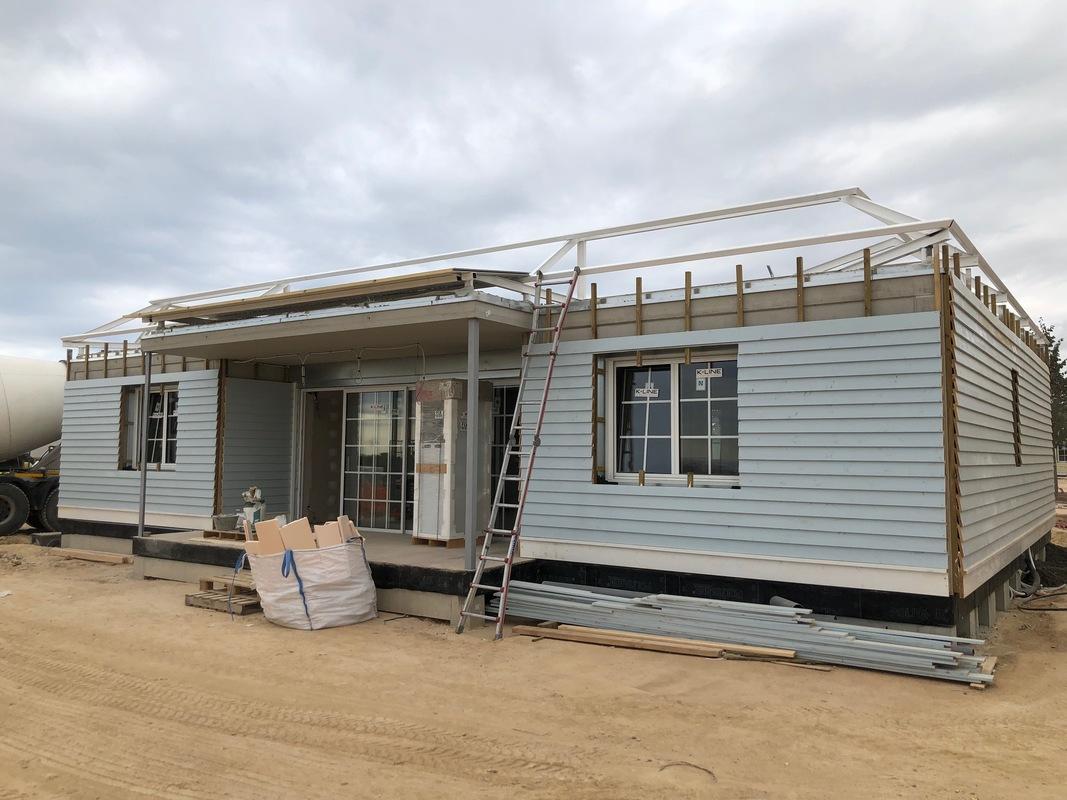 Construccion casas prefibricadas hormigon en Port Aventura 7